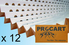 12 x Spray Booth Concertina Pleated Cardboard Paint Filters 0.75 x 9.2m DISCOUNT