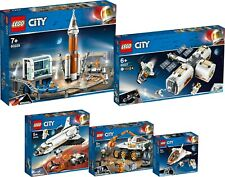 LEGO City NASA 60228 60227 60226 60225 60224 Weltraumrakete Astronauten N7/19