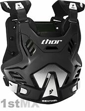 THOR Sentinel GP Body Armour Chest Protector Motocross Youth Kids Black