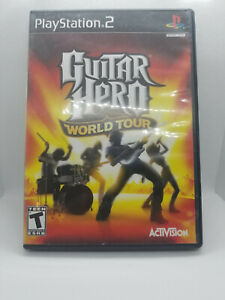 Guitar Hero: World Tour - Playstation 2 Game Complete with Manual