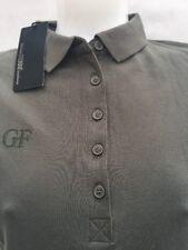 GF Ferre women's  Italian polo shirt dark olive green  L
