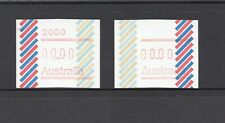 Rare Australia Stamp 'UPSIDE DOWN FRAMA with 00.00 ZERO Value' Barred Edge 1984