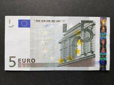 Billet France 5 euros NEUF - 1ere Série - Signé Wim DUISEMBERG / SPL+ ou UNC