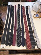 Stock 9 Cravatte RICHMOND 100% Seta + 3 Papillon RICHMOND