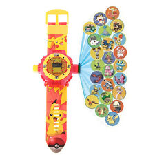 Pokemon Pikachu Supply 24 Different Patterns Watches Projection Wrist Watch Gift