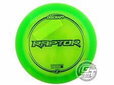 New Discraft Elite Z Raptor 164-166g Green Blue Stamp Distance Driver Golf Disc