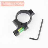 Hunting Alloy Bubble Spirit Level 30MM Mount for Rifle Scope Laser w/ 30mm Rings