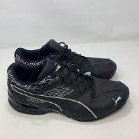 PUMA Men's Tazon 6 Fracture FM Sneaker Cross-Trainer Running Shoe Black Size 12