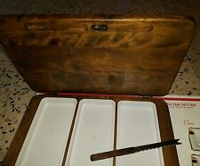 Sushi Gail Craft  Woodenware Japan Cutting Board Set Plus Original Knife.