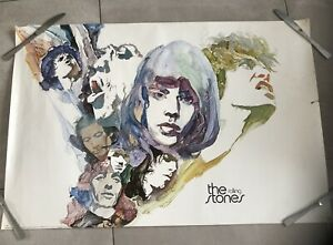 ROLLING STONES 1970s poster