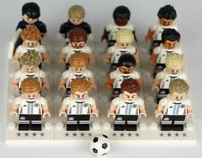 LEGO 71014 DFB MANNNSCHAFT GERMANY Football Team COMPLETE SET OF 16 Minifigure