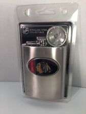 Chicago Blackhawks Stainless Steel 8oz Flask NHL Official Collectible