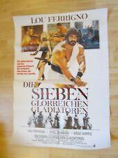Filmplakat - Die sieben glorreichen Gladiatoren (Lou Ferrigno)