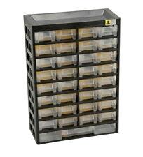 Kleinteilemagazin unbestückt 33 Fächer Schraubenregal Sortierkasten Stapelbox