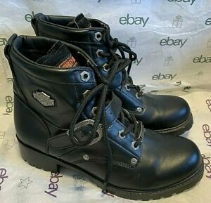 HARLEY-DAVIDSON MOTORCYCLE WOMAN'S RIDING BOOTS **NWOT** SIZE 6