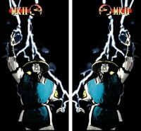 Mortal Kombat 2 Arcade Side Art Artwork Full Size Mk2 MKll Midway 2pc