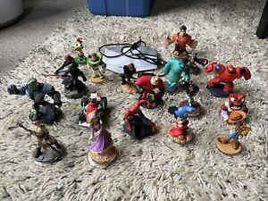Disney Infinity 20 Piece Lot  Star Wars, Toy Story, Cars, Marvel