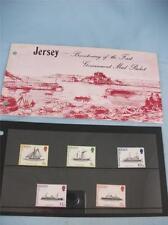 Sello de Jersey de paquete de correo Bicentenario de gobierno presentación Pack emitido 1/10/78