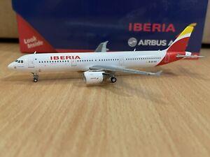Iberia A321 1:400 (Reg EC-ILO) GJIBE1494 Gemini Jets