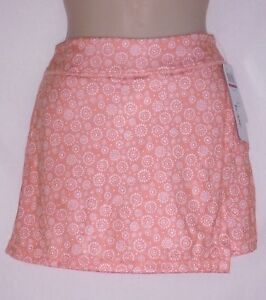 SKORTS - GRAND SLAM ACTIVEWEAR with UPF 50 – CORAL - SIZE XS or XL – NWT $60