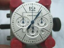 CARTIER PASHA 42MM AUTOMATIC CHRONOGRAPH 41J  W31085M7 MVT, DIAL, & HANDS  #7021