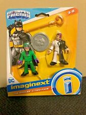 "imaginext DC Super Friends-  ""The Riddler & Two-Face"""