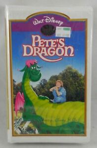 Walt Disney's Masterpiece Pete's Dragon ERROR CLAMSHELL?? VHS Movie SEALED