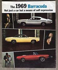1969 Plymouth Barracuda original sales brochure