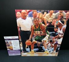 KEVIN DURANT SEATTLE SUPERSONICS BASKETBALL SIGNED 8X10 PHOTO W/JSA COA