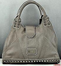 New GUESS Handbag Ladies Rebel Stud TAUPE SATCHEL Bag Purse USA