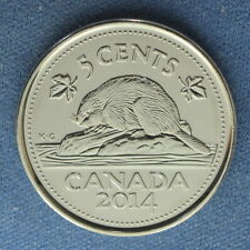 Canada 2014 Nickel (5 Cents) - from a Original Mint Roll