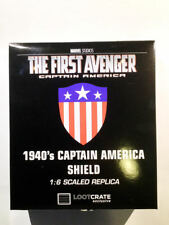 NEW Captain America Shield Replica scudo LootCrate First Avenger Exclusive