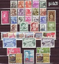 Italia annata 1961 completa 36 valori  nuovi ** Presenti GRONCHI senza ROSA! SPL