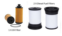 Maxflow® Suit Holden Colorado RG Turbo Diesel 2.8L LWH Oil and Fuel Filter Kit