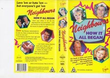 NEIGHBOURS HOW IT ALL BEGAN RARE VHS PAL VIDEO