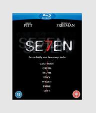 Se7en Blu-ray Crime/Drama/Mystery/Psych ological Thriller Movie Region free