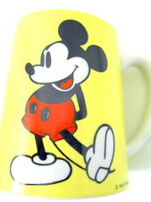 Vtg Disney Mickey Mouse Musical Coffee Mug Schmidt Bros Japan Yellow MICKEY song