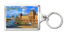 LOUVRE MUSEUM FRANCE PARIS KEYRING SOUVENIR NEW LLAVERO