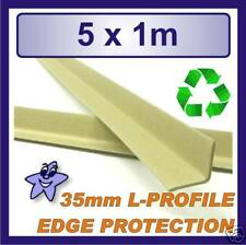 Cardboard Edge Protector 35mm x 35mm L Profile  5 x 1m Length