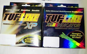 TUF LINE XP BRAIDED FISHING LINE-- 30 lbs - 100 YDS - RED