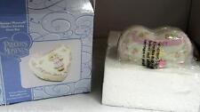 New Precious Moments 2007 October Birthday Heart Shaped Tourmaline Birthstone