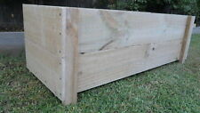 Small 2B Treated Pine Flower Garden Veggie Herb Cafe Rustic Raised Planter box