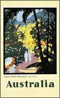 Australia 1923 Tropical North Queensland Vintage Poster Print Retro Style  Art