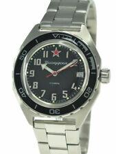 Vostok Komandirskie 650537 Watch Automatic Russian Wrist Watch Black New