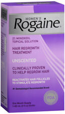 Women's Rogaine Hair Regrowth Treatment, Unscented 1 month supply 2 Oz