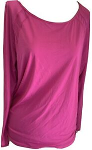 Lululemon Pink Sheer Athletic Pullover Top....M