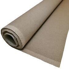 100% Leinenstoff  Canvas Maltuch 440 g/m² 150cm breit. Preis pro 1LfM