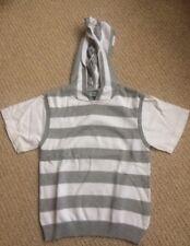 Boy's Short Sleeved Hooded Jumper Age 6 by Debenhams