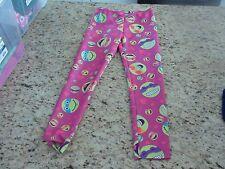 Tmnt Teenage Mutant Ninja Turtles Pink Pants Girls Size 7/8 Guc