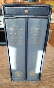 The Compact Edition of the Oxford English Dictionary 2 Volume 1980